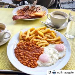 medium breakfast