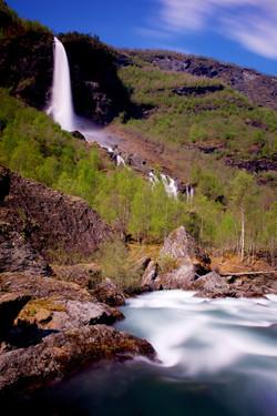 Rjoandefossen waterfall