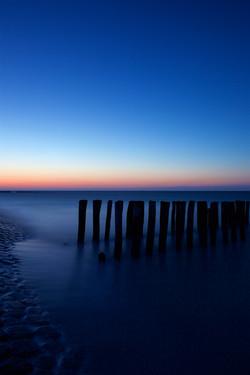 Ocean in blue