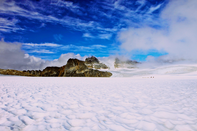 Alaskan snow