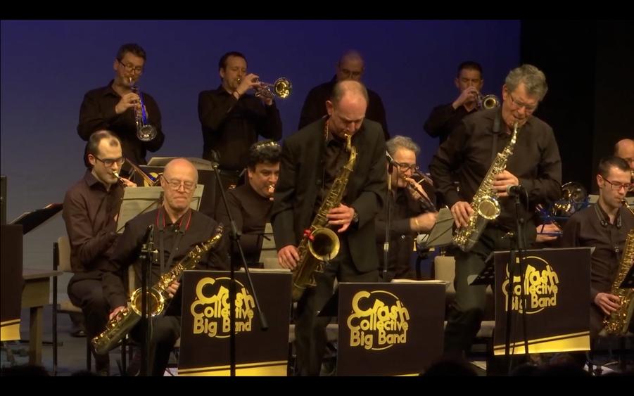 Crash Collective Big Band performing live at Talisman Theatre, Kenilworth