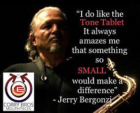 Jerry Bergonzi Tone Tablet quote
