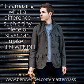 Ben Wendel Tone Tablet Quote