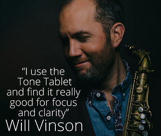 Will Vinson Tone Tablet quote