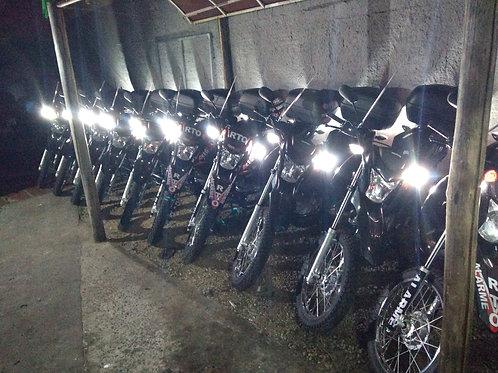 kit strobo para motos de segurança
