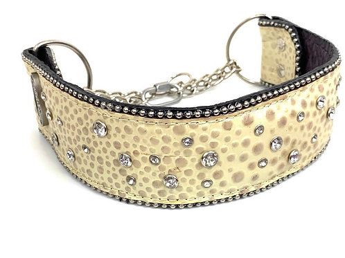 """2.25"""" Wide Champagne Martingale"""