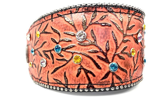 "2.75"" Wide 2019 Living Coral -  Buckle Collar - 2.75"" Wide"