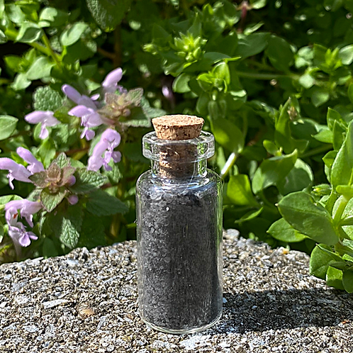Black Salt Jar