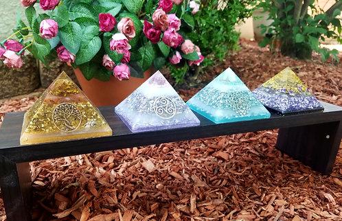 Custom 3 Inch Orgone Energy Pyramid
