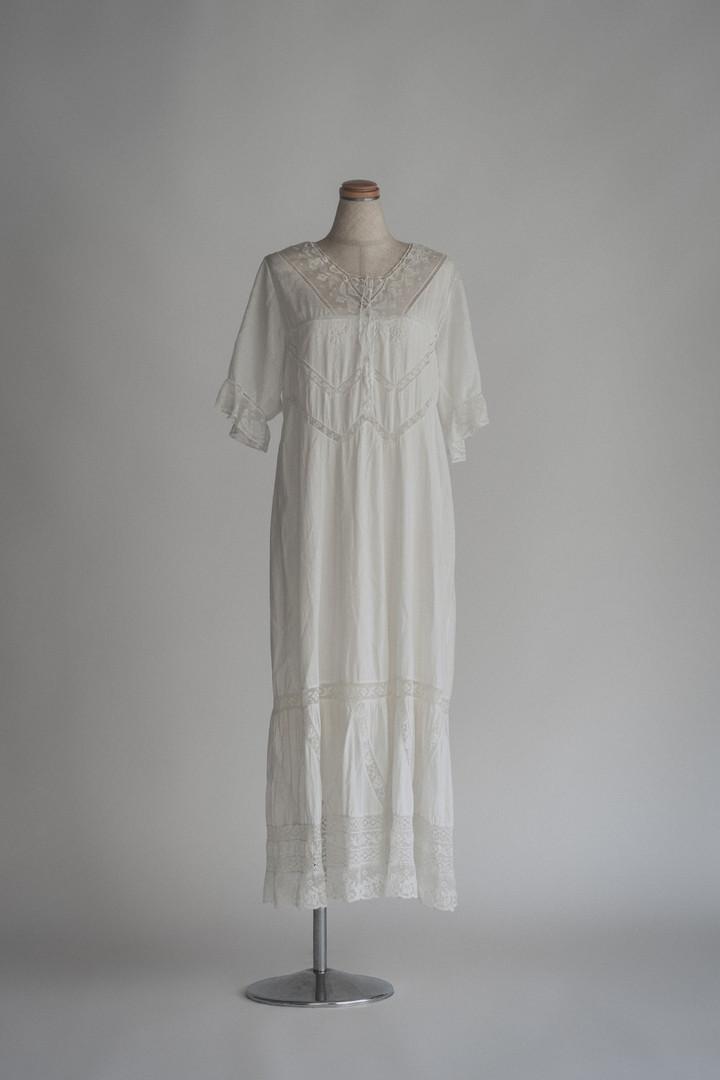 アンティークワンピースドレス