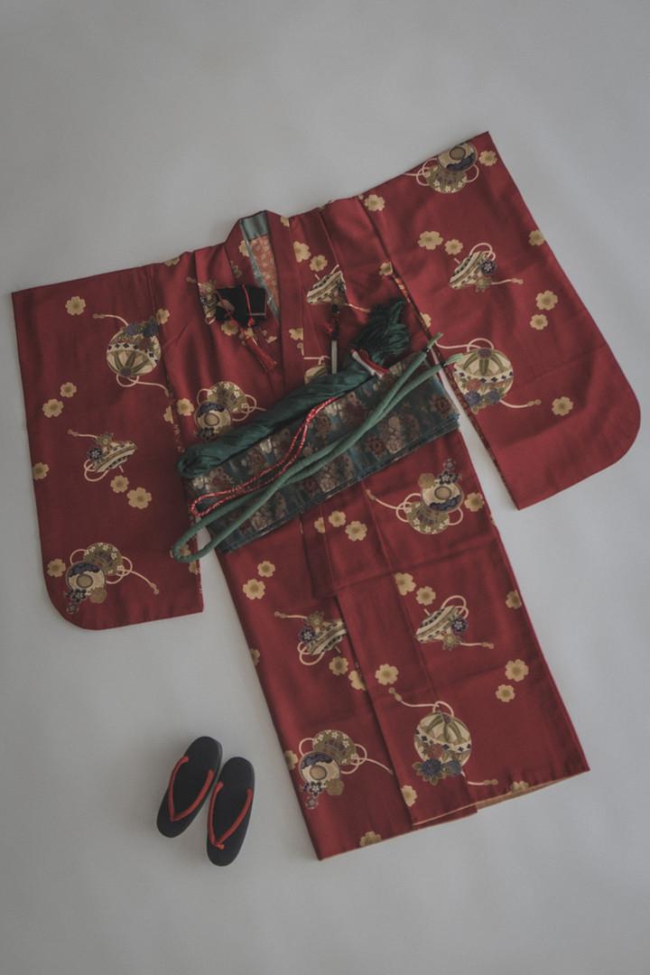 COMME CA DU MODE 七歳女児用着物セット