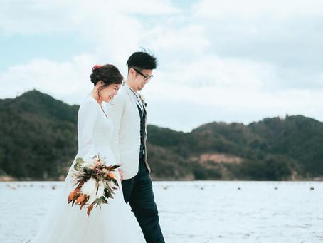 結婚式前撮り写真