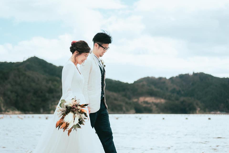 おふたりの思い出の場所での結婚式前撮り