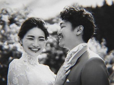 故郷での人前結婚式