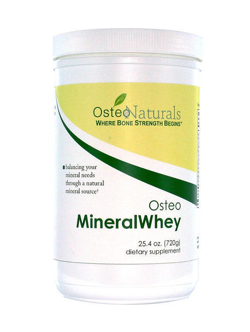 OsteoMineralWhey™ 1 container 25.4 oz. (720 grams)