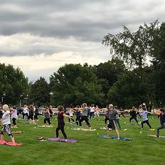 Community Yoga Class at Student Drop In Yoga Class at Moon River Wellness Center, Pelham, NH