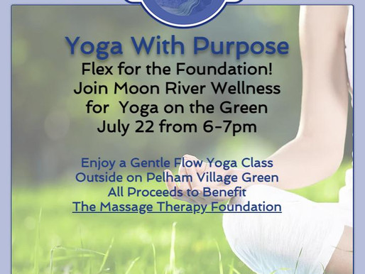 Yoga On The Green - July 22 from 6-7pm