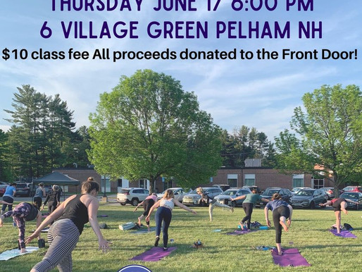 Yoga On The Green: Thursday - June 17 - 6pm