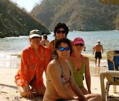 Beach Day On Isla Tortuga