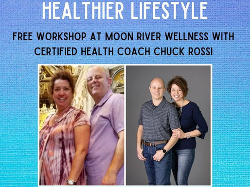 New Workshop! Tips for Creating a Healthier Lifestyle is a FREE Workshop at MRWC on May 19 @ 6:30pm
