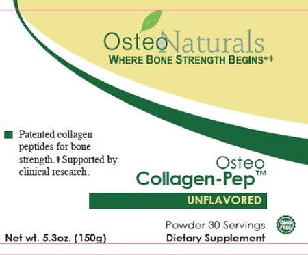 150 grams - Osteo Collagen-Pep Unflavored