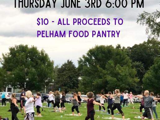 Yoga On The Green: Thursday - June 3 - 6pm