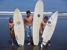 surfing in Costa Rica FishShack