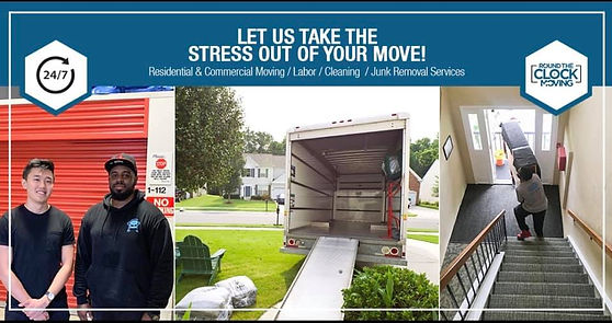 Round the Clock Movers and Junk Removal Service