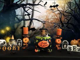 Spooky Halloween by piggies