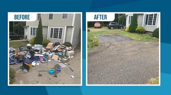Round the Clock Movers Junk Removal Services Serving Massachusetts and Rhode Island
