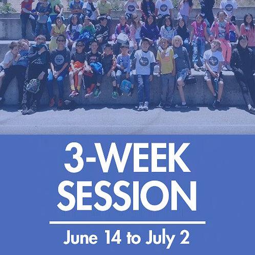3-Week Session (6/14 – 7/2)