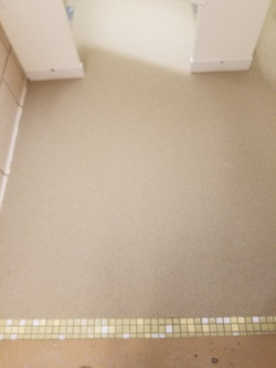 Urethane Cement with Quartz Sand Over Tile - After1