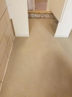 Urethane Cement with Quartz Sand Over Tile