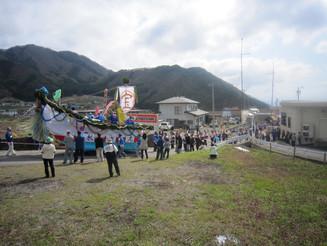 高杜神社の御柱祭