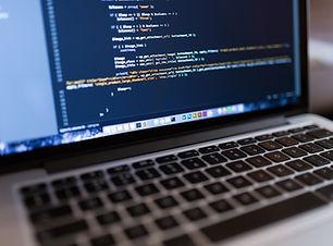 Code sur ordinateur portable