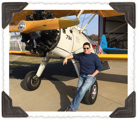 Legacy Biplane Rides pilot, Brian Rosenstein