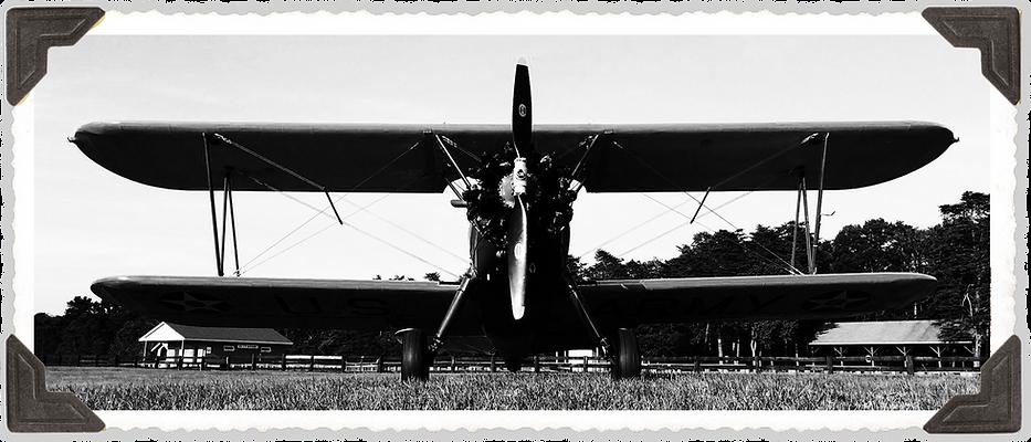 Stearman waiting for takeoff