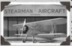 Stearman in front of the hangar