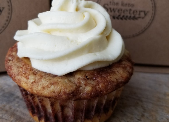 Cinnamon Roll Cupcake