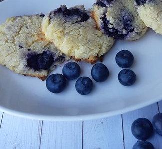 Blueberry Cream Cheese Cookie