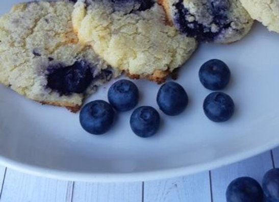 Blueberry Cream Cheese Cookie