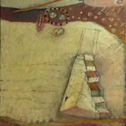 Trappetårn, 40x48, olie på lærred