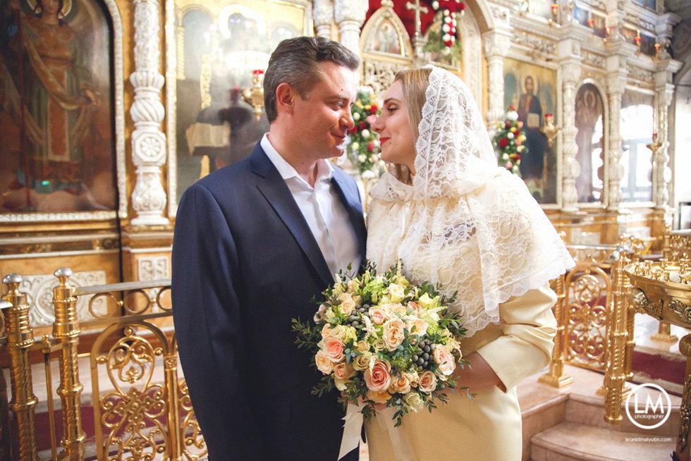 букет на венчание