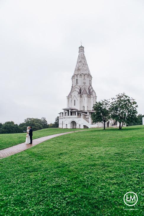 венчание в коломенском