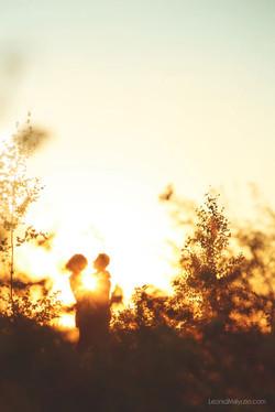 фотосессия на закате