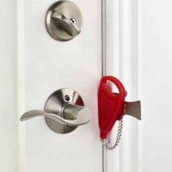 Portable Door Lock, Travel Lock, AirBNB Lock, School Lockdown