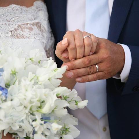 Semplicità ❤️#wedding #weddingbouquet #h