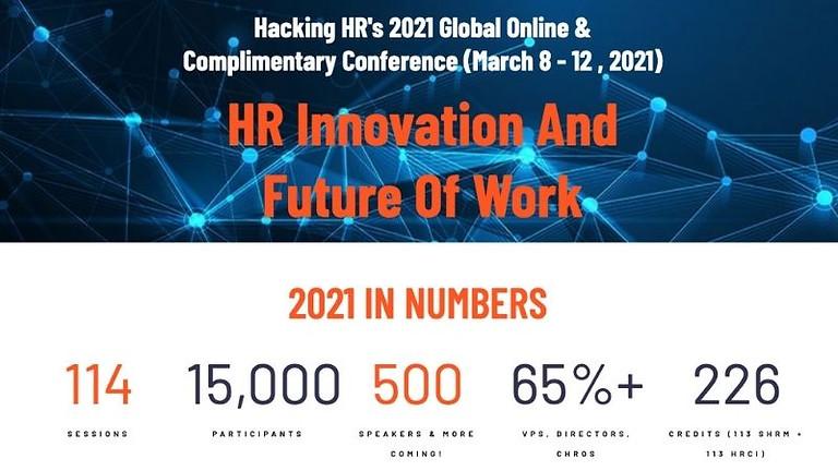 Hacking HR's 2021 Global Online Conference