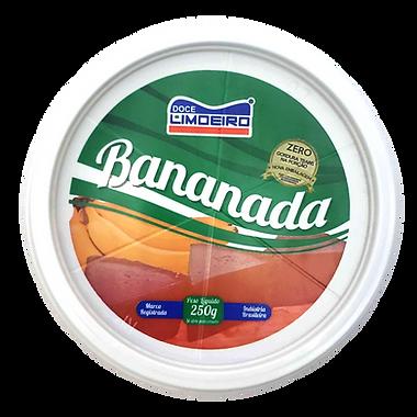 Bananada 250g Doce de Banana