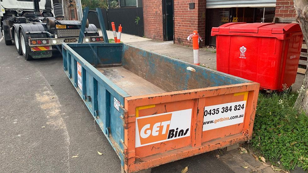 4 Cubic walk in bin for heavy mixed loads